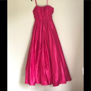 !   Camille la vie pink gown prom Dress